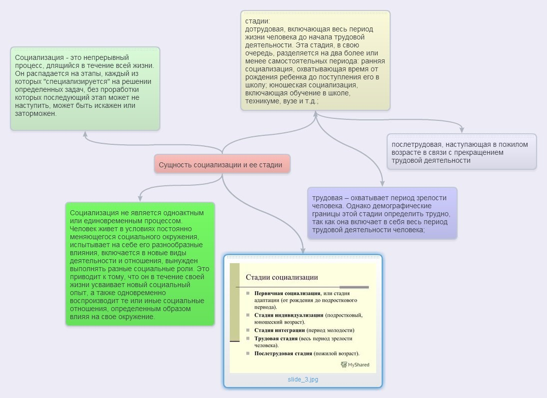 сущность социализации, как процесса развития человека... шпаргалка