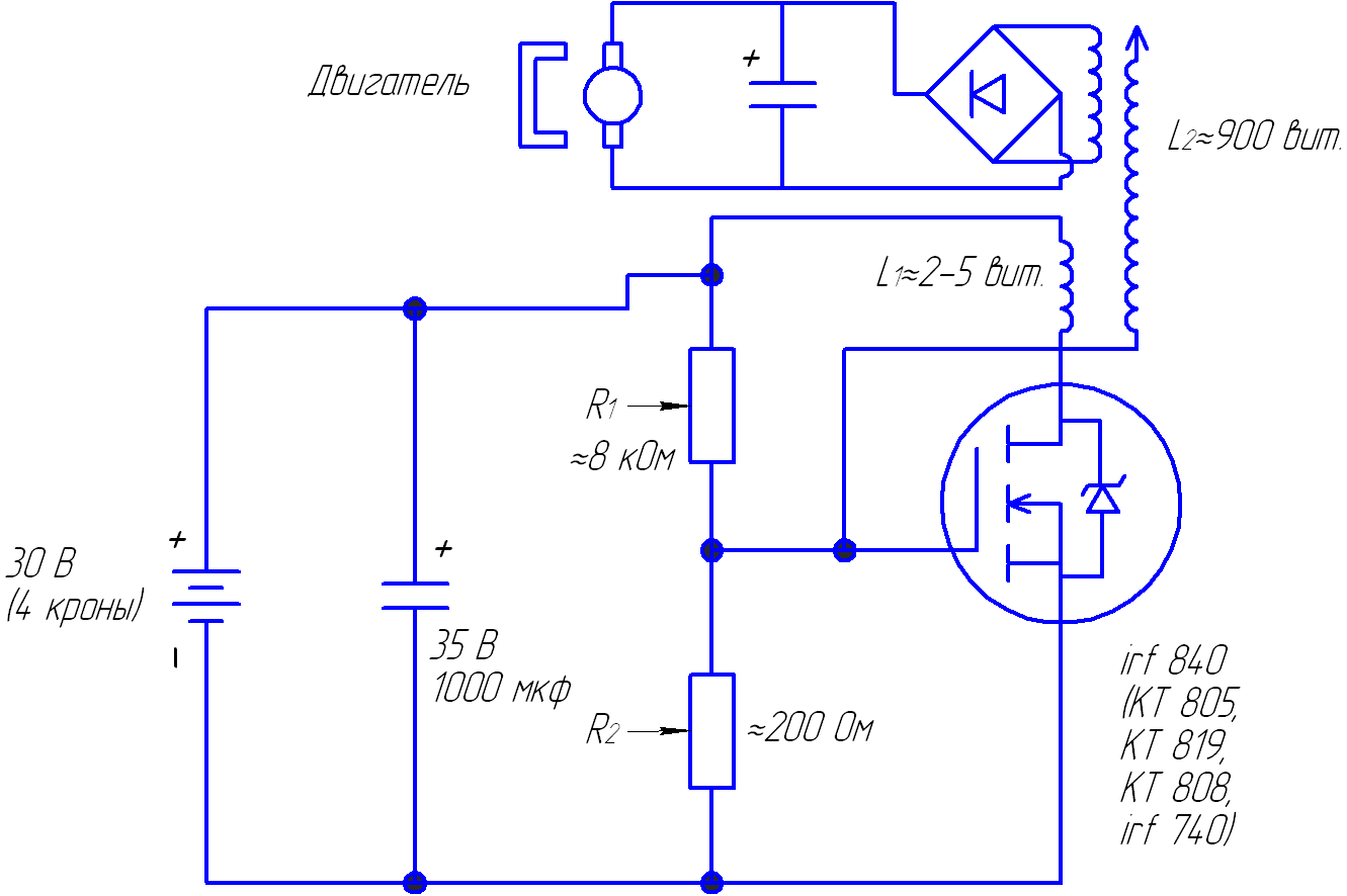 Схема смазки двигателя ваз